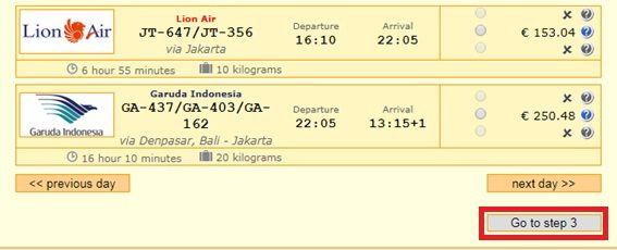 vuelo indonesia barato